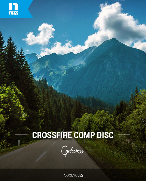 Crossfire Comp Disc Cyclocross Frame