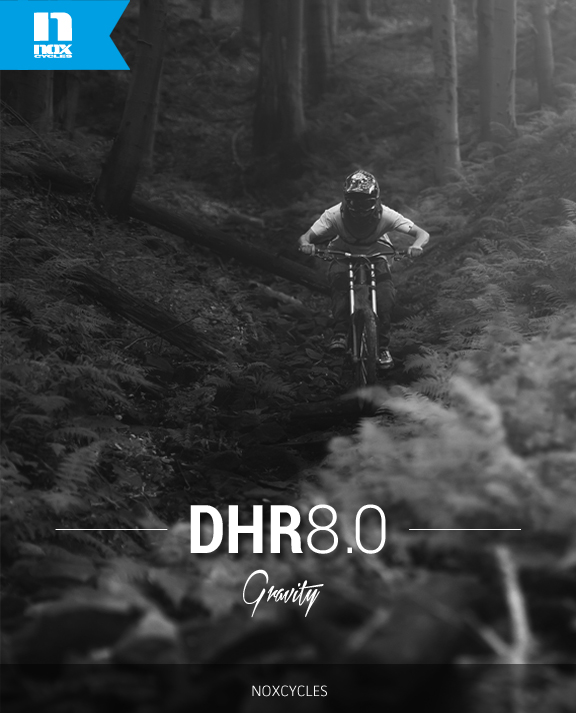 Bike DHR 8.0 Team Pro Downhill Gravity