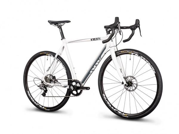 Bike Crossfire Pro Disc Weiß Seite
